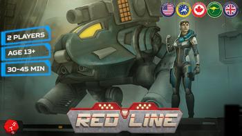 REDLINE: Tactical Card Combat board game