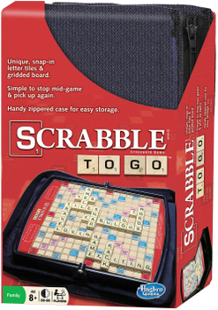Scrabble To Go board game