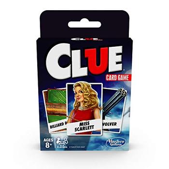 Clue Card Game board game