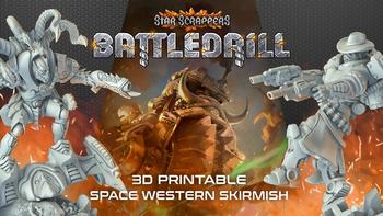 Star Scrappers: Battledrill board game