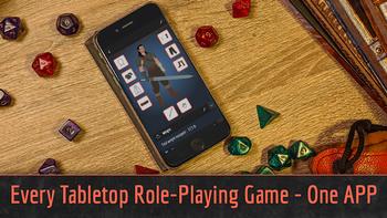 KILN: A Tabletop RPG Companion App board game