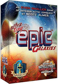 Ultra-Tiny Epic Galaxies board game