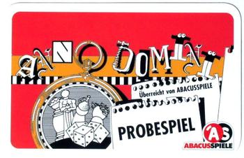 Anno Domini: Probespiel board game