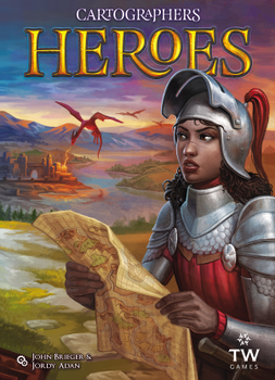 Cartographers Heroes board game