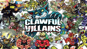 Clawful Villains board game