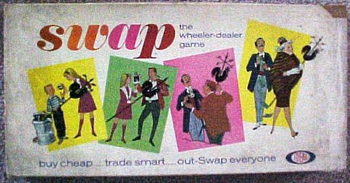 Swap board game