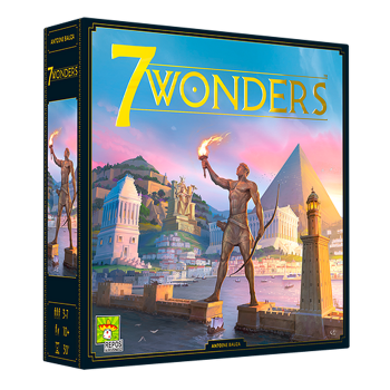 7 Wonders (Second Edition) board game