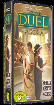 7 Wonders Duel: Agora board game