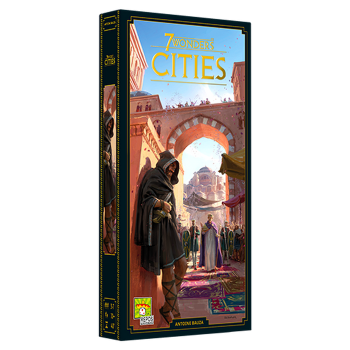 7 Wonders (Second Edition): Cities board game