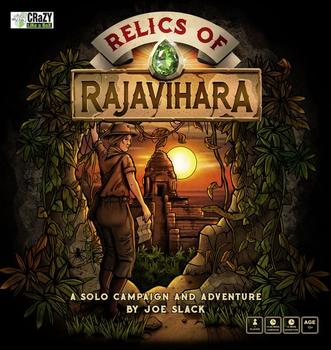Relics of Rajavihara board game