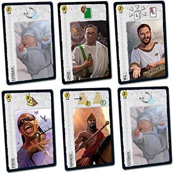 7 Wonders: Celebrity Leaders Expansion Bundle board game