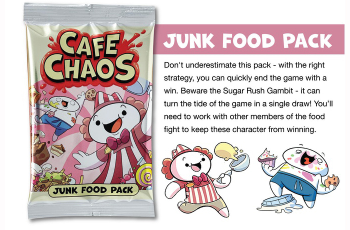 Cafe Chaos: Junk Food Pack board game