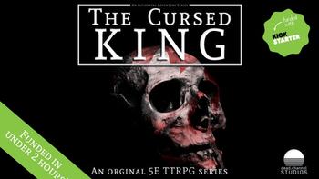 The Cursed King: A 5E Adventure board game