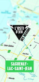 L'osti d'jeu des regions: Saguenay-Lac-Saint-Jean board game