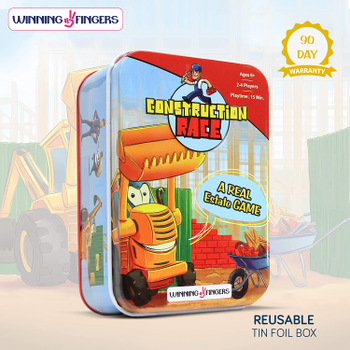 Construction Race board game