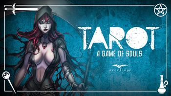 Zenescope's Grimm Fairy Tales TAROT: a Game of Souls board game