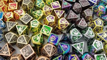 Talys Metal Dragon Dice board game