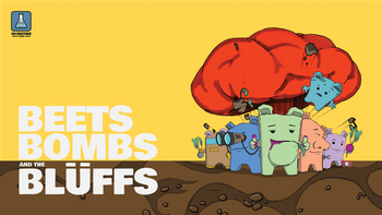 Beets Bombs and the Blüffs board game
