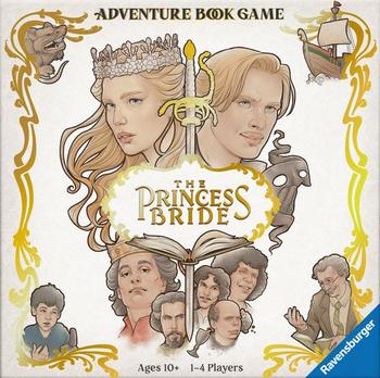 The Princess Bride Adventure Book Game board game