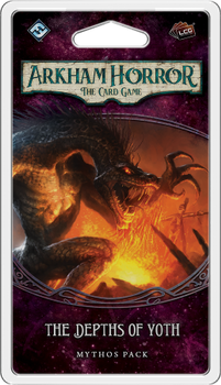 Arkham Horror: The Card Game - The Depths of Yoth Mythos Pack board game