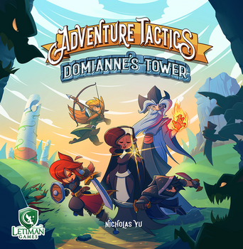 Adventure Tactics: Domianne's Tower board game