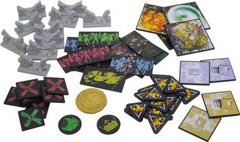 Zombicide: Black Plague - 62 Plastic Tokens