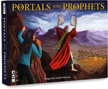 Portals and Prophets board game