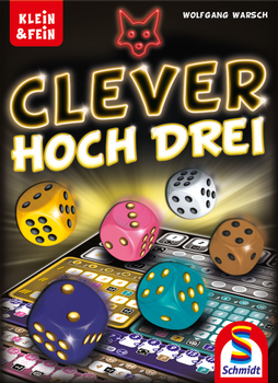 Clever hoch Drei board game