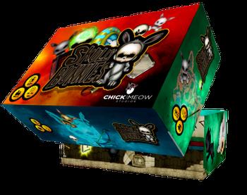 Skully Bunnies board game