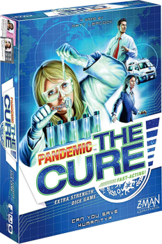 Pandemic: The Cure board game