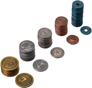 Scythe: Metal Coins board game