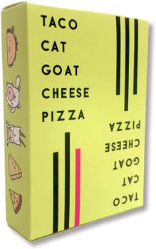 Taco! Cat! Goat! Cheese! Pizza! board game