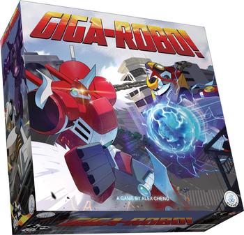 Giga-Robo! board game