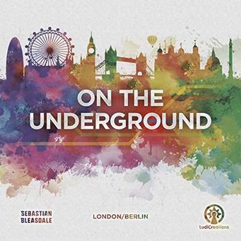 On the Underground: London / Berlin board game