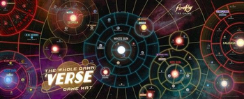 Firefly: The Game - The Whole Damn 'Verse Game Mat