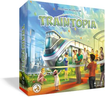 Traintopia board game