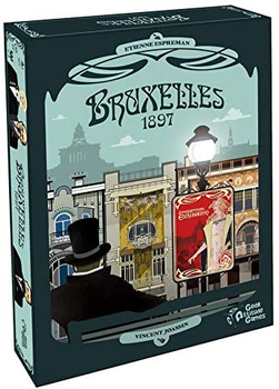 Bruxelles 1897 board game