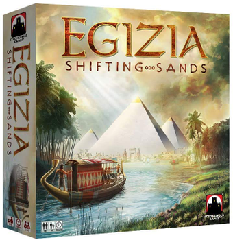 Egizia: Shifting Sands board game