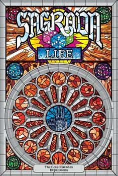 Sagrada: The Great Facades – Life board game