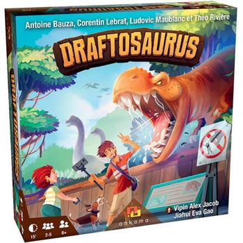 Draftosaurus board game