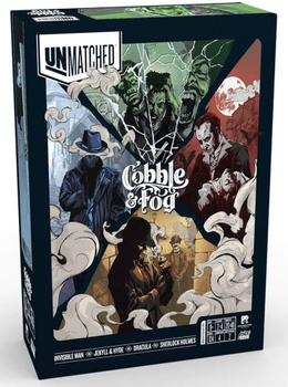 Unmatched: Cobble & Fog board game