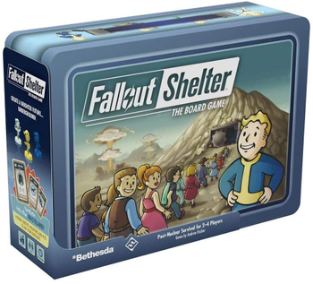 Fallout Shelter: The Board Game board game