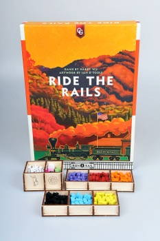 Ride the Rails: Meeple Realty Organizer