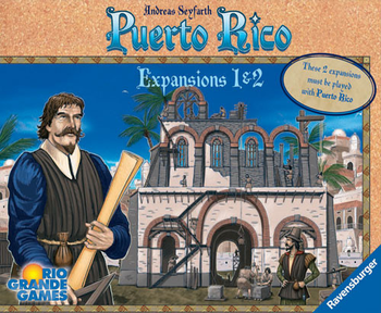 Puerto Rico: Expansions 1 & 2 board game
