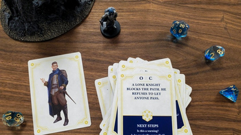 The Deck of Stories and NPC Cards