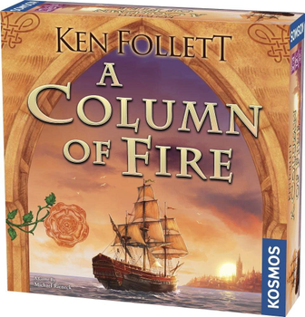 A Column of Fire board game