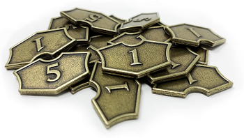 Magic: The Gathering - Loyalty Counters (Metal, Set of 20) board game