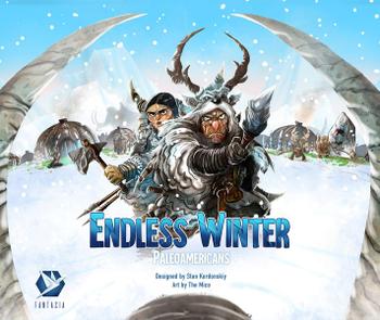 Endless Winter: Paleoamericans board game