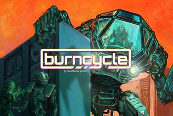 Burncycle board game