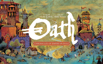 Oath: Chronicles of Empire and Exile board game